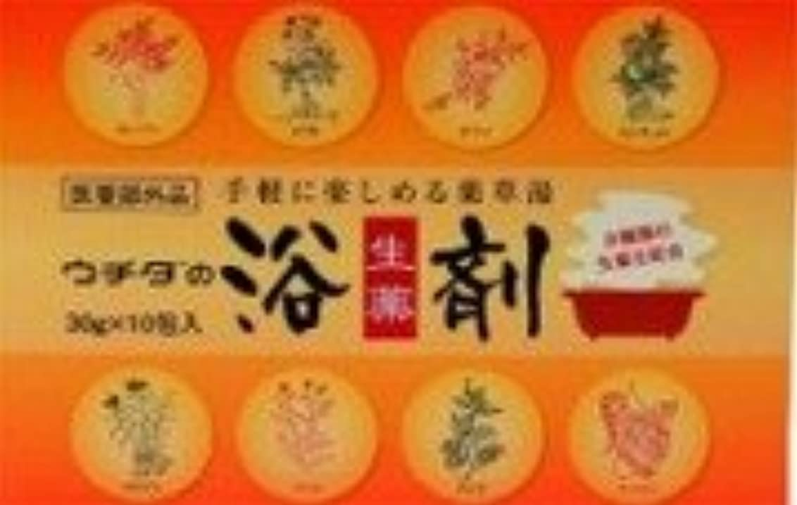 定期的名前を作るブレスウチダの 生薬浴剤 30g×10包 【医薬部外品】