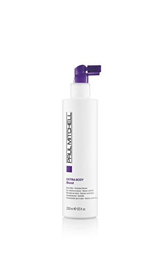 Paul Mitchell Extra-Body Boost - Volumen-Spray für feines Haar, Ansatz-Spray für flexiblen Halt, 250 ml