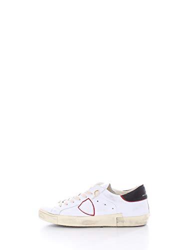 Philippe Model Sneakers PRLU Bianco+Rosso Uomo MOD. PRLU 43
