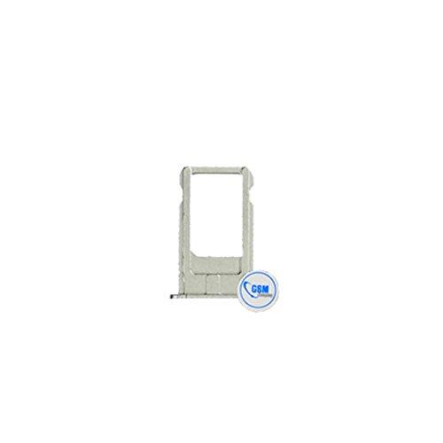 gsm-company*de Micro SIM Karten Halter Card Tray Holder Adapter Slot für Apple iPhone 6 (4.7) Silber # itreu