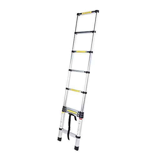 Headerbs Escalera Telescópica, Escalera De ático Extensible para Uso En Taller De ático De Oficina En Casa