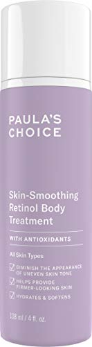 Paula's Choice Retinol Skin-Smoothing Body Treatment, Shea Butter, Vitamin C & E Lotion, Anti-Aging Moisturizer, 4 Ounce
