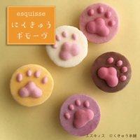 ねこさんのにくきゅうギモーヴセット 5個入り ギモーヴ 生マシュマロ 猫 ギフト スイーツ お菓子