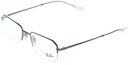 Ray-Ban RX6449 Gafas de lectura, Green, 53 Unisex Adulto