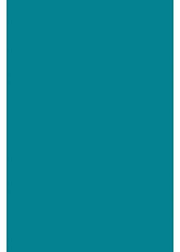 A4 Transferfolie/Textilfolie zum Aufbügeln auf Textilien - perfekt zum Plottern - einzelne Folien, P.S. Film:Petrol
