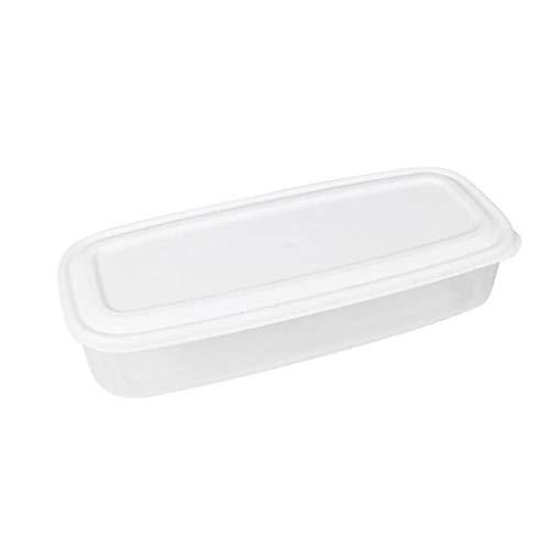 QJXSAN Cereal contenedor de Alimentos de contenedores de Almacenamiento de Sellado de plástico Transparente Plaza del Grano de arroz Snacks dispensador de azúcar nueces Alimentos for Mascotas