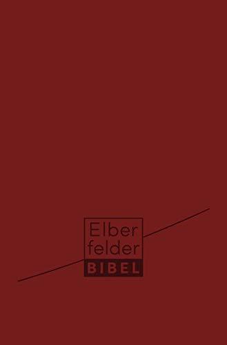 Elberfelder Bibel Taschenausgabe: Kunstleder mit Reißverschluss