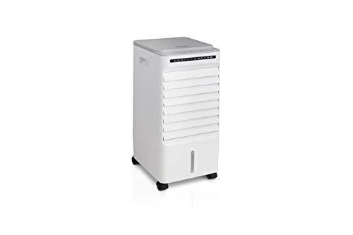 DUTCH ORIGINALS 6l Mobiler Luftkühler 65 Watt, Portabler Verdunstungskühler mit 60° Oszillation, Mobiles Klimagerät mit 3 Geschwindigkeitsstufen 56 cm hoch