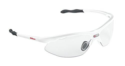 Wilson Nvue Protective Racquetball Eyewear, White