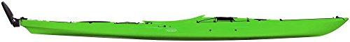 Tahe Marine Tourenkajak Kajak Freizeitkajak Seekajak Fit 158 PE mit Steuer, Farbe:Grün;Ausstattung:Mit Ruder