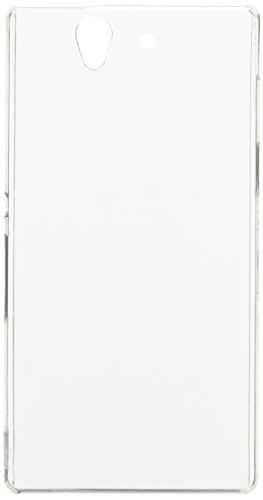 iCues Sony Xperia Z - L36H   Ultra Slim Case Klar   [Display Schutzfolie Inklusive] Extra Leicht sehr Dünn Transparent Klarsichthülle Durchsichtig Klare Klarsicht Schutzhülle Hülle Cover Schutz