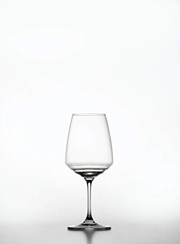 Zafferano Esperienze - Bicchiere da Vino Sauvignon Blanc Riesling - Set da Degustazione Vino in Cristallo cl 45 h 210 mm d 89 mm - Set 6 Pezzi