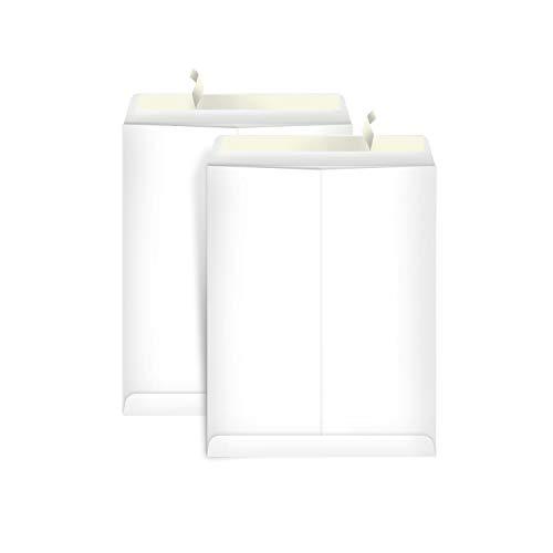 AmazonBasics Catalog Mailing Envelopes, Peel & Seal, 10x13 Inch, White, 100-Pack
