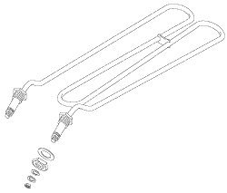 Ranking TOP14 Heating Element Assembly Ranking TOP2 for Amsco AMH016 Steris