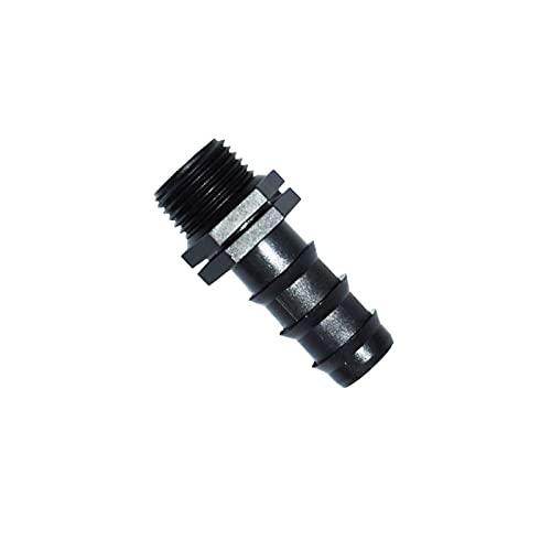 Conectar o reparar las mangueras rápidamente. Conector de la manguera de la manguera 1/2 Conector roscado 3/4 Conector de riego de la manguera de 20 mm 20 mm 20 (Diameter : 3/4'')