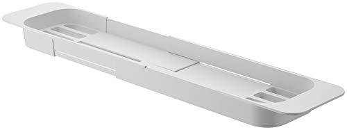 山崎実業(Yamazaki)伸縮バスタブトレーホワイト約W75XD15.5XH4.5cmタワー浴室用ラックバスラック3546