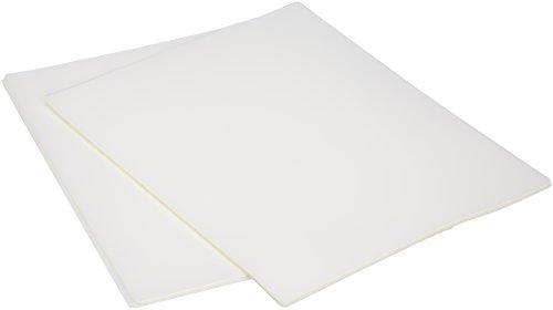 Amazon Basics Thermal Laminating Plastic Laminator Sheets - 8.9 Inch x 11.4 Inch, 50-Pack