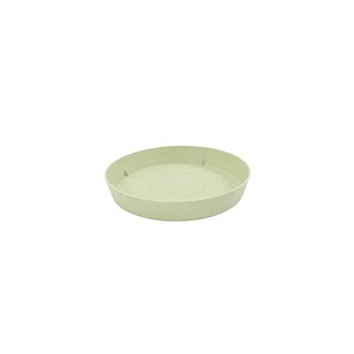 Plastiken tes – Plat Rond, diamètre de 11 cm, Couleur Jade