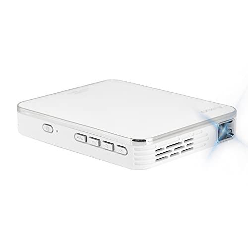 Jopwkuin Mini proyector 4K de 2000 LM de Brillo, proyector de Video portátil con interconexión de teléfono móvil...