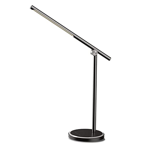 Lámpara de Escritorio, Luz de Lectura Recargable, Lámpara de Escritorio LED Protección de Ojos Lámpara de Lectura USB Táctil Inteligente Lámpara de Escritorio Lámpara de Escritorio Plegable