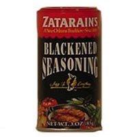 Zatarains Blackened Seasoning - 3 oz. shaker can, 12 per case