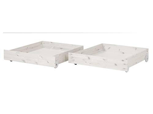 FLEXA Classic | Harmony 2 Bettschubladen Classic passend zu Bett 90x200cm 82-20108-2