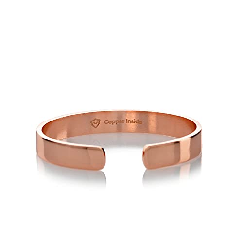 Copper Inside Pulsera magnética de cobre puro interior de cobre - Pulseras de cobre para mujer