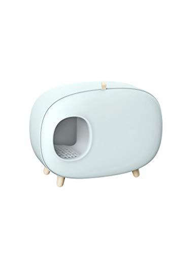 Katzentoilette, einfach und schönes Haustier Katzenklo vollständig umschlossenen integriertes Design, liefert Katzenhaushalt (Color : C)