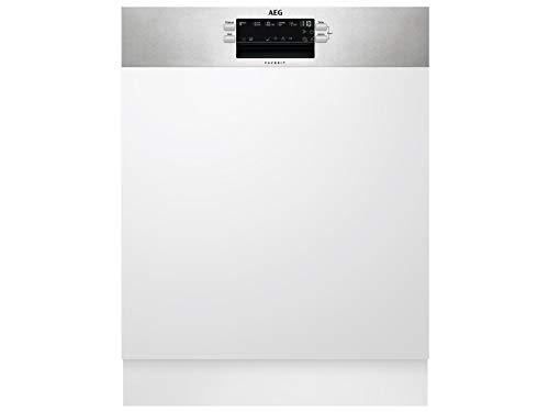 AEG FEB52637ZM Lave-vaisselle encastrable semi-intégré AirDry A++