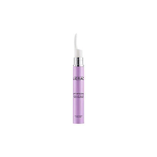 Lierac Lift Integral Siero Antirughe Occhi e Palpebre con Acido Ialuronico, per Tutti i Tipi di Pelle, Formato da 15 ml