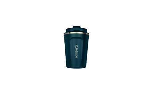 CUPASSION Ecology - Thermobecher Night Blue 350ml | Kaffeebecher | auslaufsicher | doppelwandiger Edelstahl | Coffee to-go | Tee Isolierbecher | Travel Mug