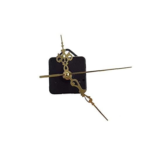 Nicedier Reemplazo Hueca Diseño Reloj punteros del Reloj de Cuarzo Movimiento de Bricolaje Movimiento del Reloj de Pared Accesorios Mecanismo para la decoración del hogar de Oro joyería y Accesorios