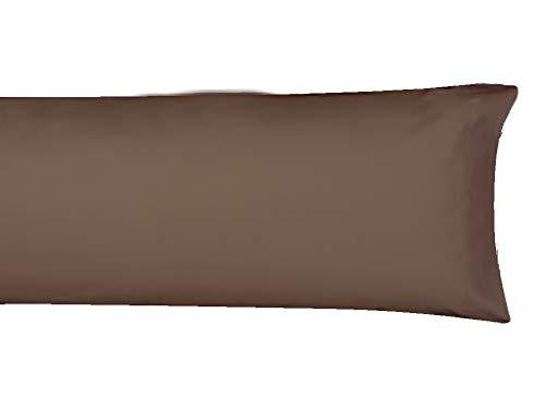 MI CASA F.Almohada Basic 150 Marron Funda de Almohada, 150cm