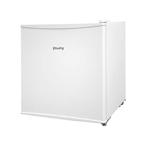 Lowry LTTF1 White 43L Table Top Mini Fridge and Cooler with Ice Box, Energy A+, 1 Year Guarantee*