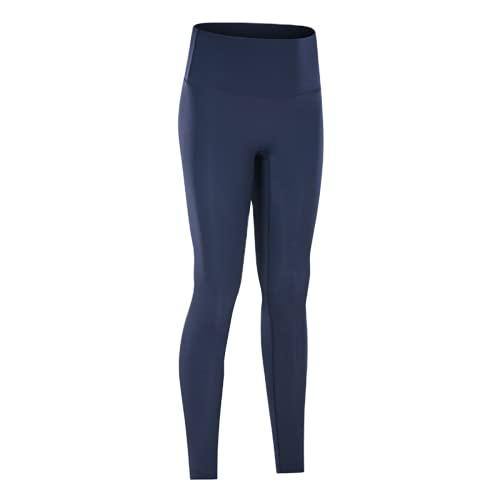 QTJY Leggings sin Costuras de Cintura Alta, Pantalones de Entrenamiento para Mujer, Pantalones de Yoga, Leggings con Push-ups, Mallas de Fitness elásticas para el Abdomen, B XL