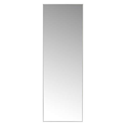 Espejo de Pared de plástico LOLAhome (31 x 3 x 91 cm, Blanco)