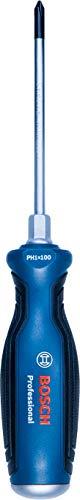 Bosch Professional 1600A01TG2 Kruiskopschroevendraaier (PH1, schachtlengte: 100 mm; 1x Professional Phillips, doorlopend stalen mes en stalen kap)