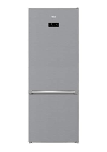 Frigorífico combi - Beko RCNE560E30ZXB, No Frost, 501 L, 192x70 cm, Clase A++, Inox