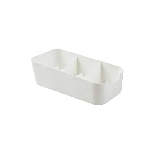 3 en 5 Cellen Plastic Opbergdoos Tie Bra Sokken Lade Cosmetische Divider make-up opslag plastic doos thuis