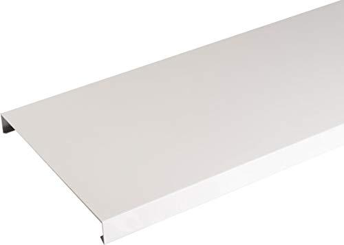 Couvertine aluminium 1 mm blanc 2 mètres - 270 mm
