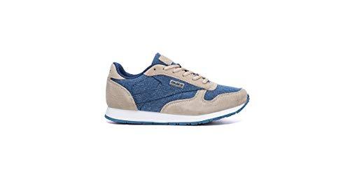 Kelme Victory Jeans, Zapatillas para Hombre, Beige (Beige Y Azul 934), 41 EU