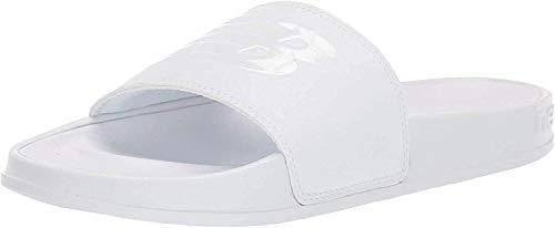 New Balance Women's 200 V1 Slide Sandal, White/White, 9 M US