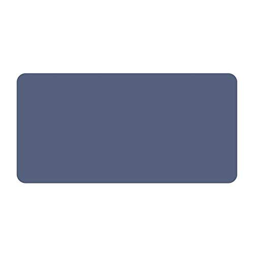 JSJJAET Gran Juego de ratón Almohadilla Grande extendida computadora Estera Juego Mousepad Gamer Oficina Escritorio Estera Teclado Almohadilla de Almohadilla Antideslizante Impermeable (Color : Blue)