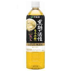 伊藤園 黒酢で活性 もろみ酢プラス 900mlペットボトル×12本入