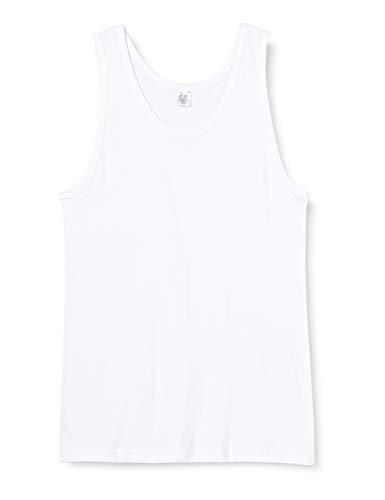 Abanderado Camiseta de Tirantes de algodón canalé, Blanco (Blanco 001), XXX-Large (Tamaño del Fabricante: 3XL/64) para Hombre