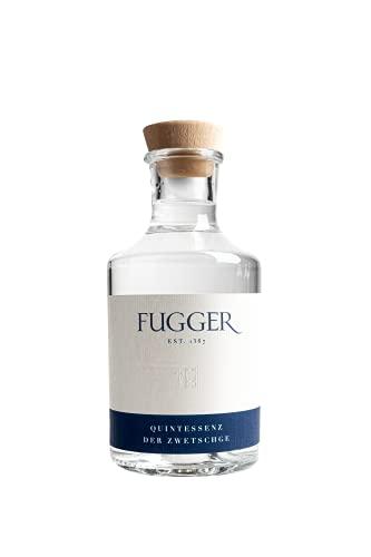 August Gin FUGGER - Quintessenz der Zwetschge, Destillate aus Bayern, Spirituosen von höchster Qualität, Augsburg Obstbrände (1 x 0.5 l)