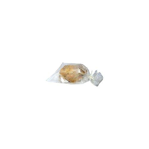 Elicuisine10003.Juego para Horno y microondas de Bolsas de plástico (25Bolsas de 25x 40cm, 25Bolsas de34x 43cm)