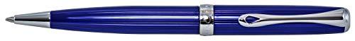 DIPLOMAT - Kugelschreiber Excellence A2 Skyline blau easyFlow - Schick und elegant - Lange Lebensdauer - Funkelndes Blau