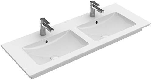 Villeroy & Boch V&B Schrank-Doppelwaschtisch VENTICELLO 1300x500mm, o ÜL we C+