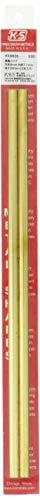 K&S-Metall 969826 Messingrohr, 300mm lang, Wand 0,45mm Durchm. 8mm 2 Stück